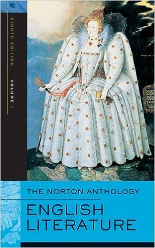 Vol literature 1 of english anthology pdf norton