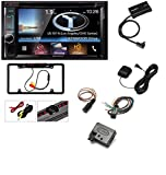 DVD CAR CD STEREO RECEIVER DASH INSTALL MOUNTING KIT FOR DODGE RAM TRUCK 2002 -2005 With Kenwood DNX693S 6.2'' eXcelon Double-DIN AV Navigation System With Bluetooth