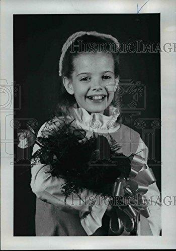 1971 Press Photo Darla Jones, District five Junior Rose Festival (Darla Rose)