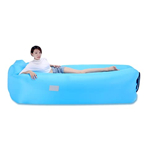 OJESS Sofa Hinchable, Inflable Tumbona, para Playa Camping ...