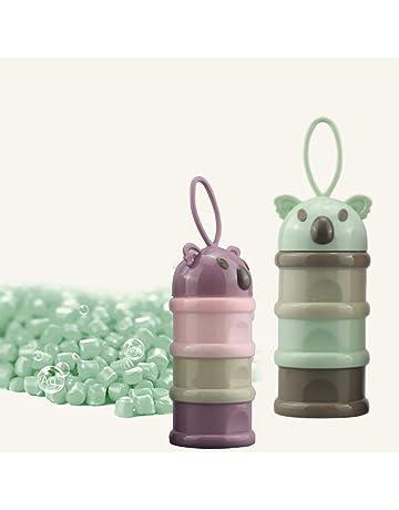 Recipiente dispensador de leche en polvo para bebé Fórmula contenedor