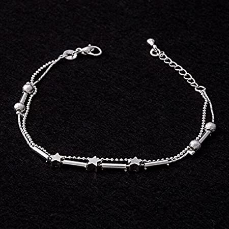 Beach Ankle Bracelets Adjustable Anklets Foot Chain Fashion Jewelry Rope Decorative Dainty Ankle Bracelet for Women Girls