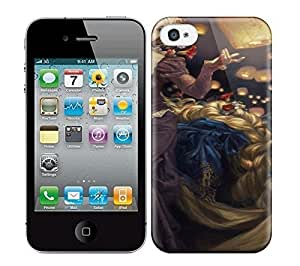 Best Power(Tm) HD Colorful Painted Watercolor I See The Light Gorgeous Disney Ladies As If They Were Oil Portraits Hard Phone Case For Iphone 4/4S