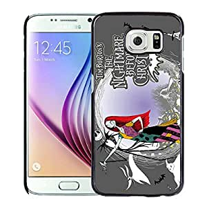 Samsung Galaxy S6 Case,100% brand new The Nightmare Before Christmas Black Case For Samsung Galaxy S6