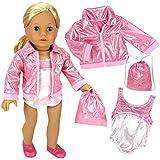 Doll Clothing for 18 Inch Doll Gymnastics 3 Pc....