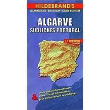 Hildebrand's Travel Map: Algarve