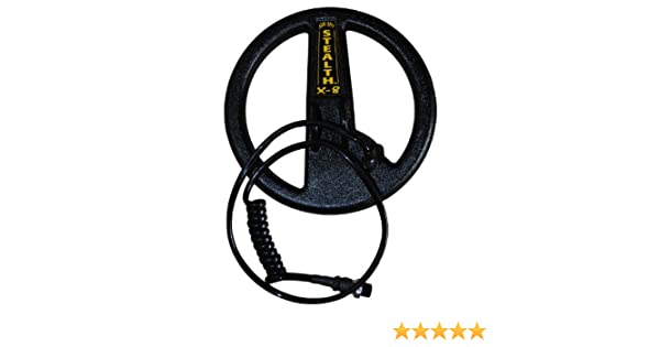 Amazon.com: SUN RAY STEALTH X-8 Search Coil for the Minelab Explorer S, XS, II, SE, E-Trac, Safari & Quattro: Garden & Outdoor