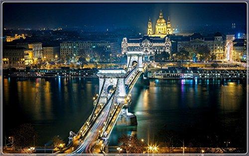 szechenyi-chain-budapest Postcard Post card