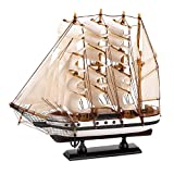Wooden Model Ship, Model Wooden Sailing Ships, Tall Passat Ship Model Assembled