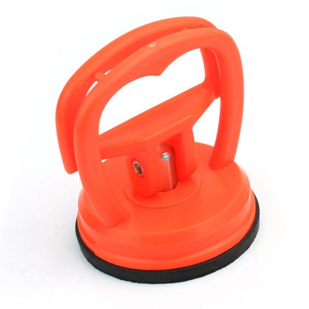 Ocamo Kit de reparaci/ón de abolladuras del Cuerpo del Coche de 2 Pulgadas Kit de reparaci/ón del coj/ín de Ventosa del Coche abollador de abolladuras Naranja