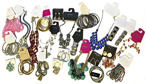 200 Piece Overstock Jewelry Lots wholesale bulk lot ()