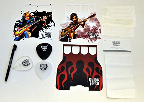 Guitar Faceplates (Guitar Hero On Tour Accessory Nintendo DS Lite DSi Stylus screen protector)