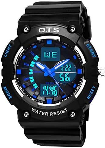 Youth outdoor sports watches/Fashion waterproof night electronic watch-B