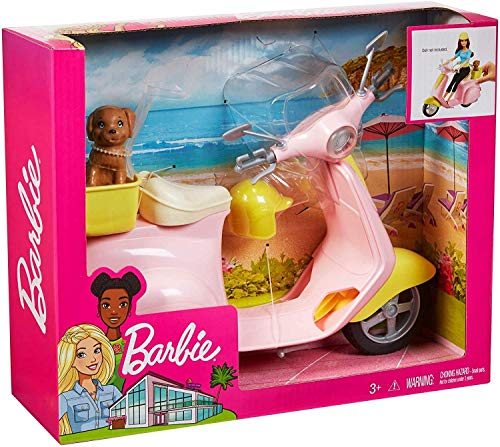 Barbie Moped Scooter Puppy
