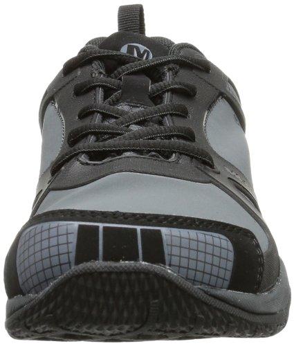 Merrell PROTERRA WTPF KIDS - Zapatos de senderismo de material sintético infantil negro - negro