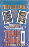 TRUE CRIME II 2 1992 ECLIPSE FACTORY SEALED TRADING CARD BOX OF 36 PACKS MS