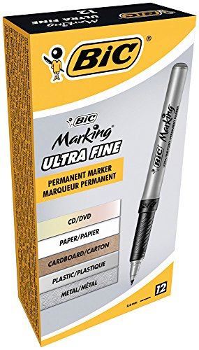 BIC Marking Permanent Marker 12 Count