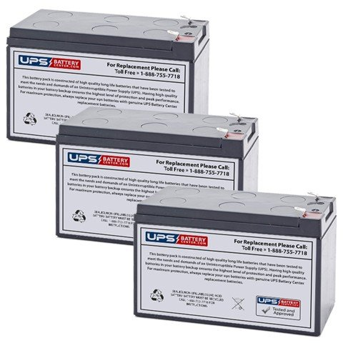 Dell 1000W (K788N) 12V 9Ah UPS Replacement Battery Set by UPS Battery Center