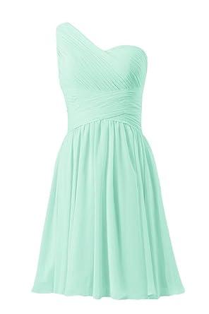 Vintage Green Short Bridesmaid Dresses