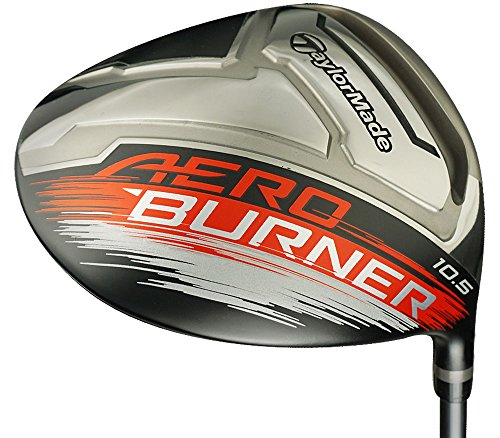 TaylorMade Men's Aero Burner 16 Driver (Graphite, 10.5 Degree, Regular, Right)