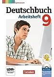 Deutschbuch Gymnasium - Allgemeine Ausgabe - Neubearbeitung: 9. Schuljahr - Arbeitsheft mit Lösungen und Übungs-CD-ROM