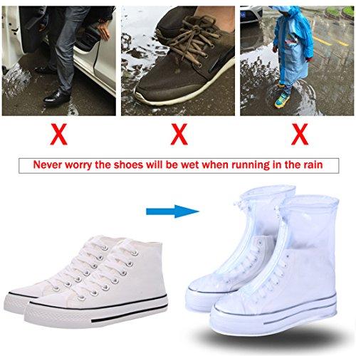 Rain Adult Kids Boots Transparent for Rain Blue Waterproof POLO Snow Shoes VICUNA Women Men Shoes w8qZUxxW7