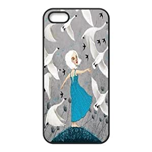 White swan High Quality Pattern Hard Case Cover for For iphone 6 4.7 Case color13