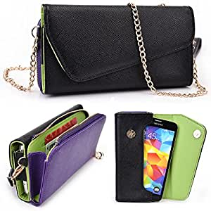 LG Optimus G (E970, E975, LS970) Two Tone Clutch with Shoulder Strap - More Colors Available!