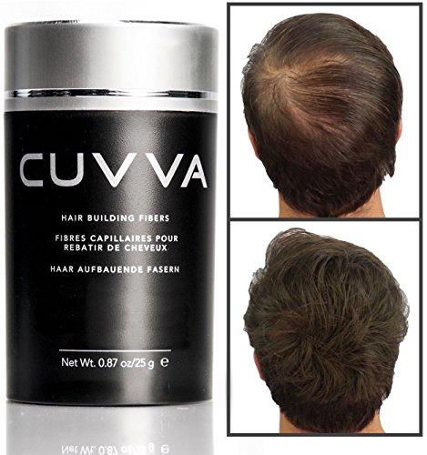 CUVVA Hair Fibers Hair Building Fibers To Conceal Thinning Hair