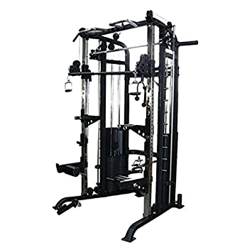 Primal fuerza Stealth comercial Fitness Elite Power Rack/Smith ...
