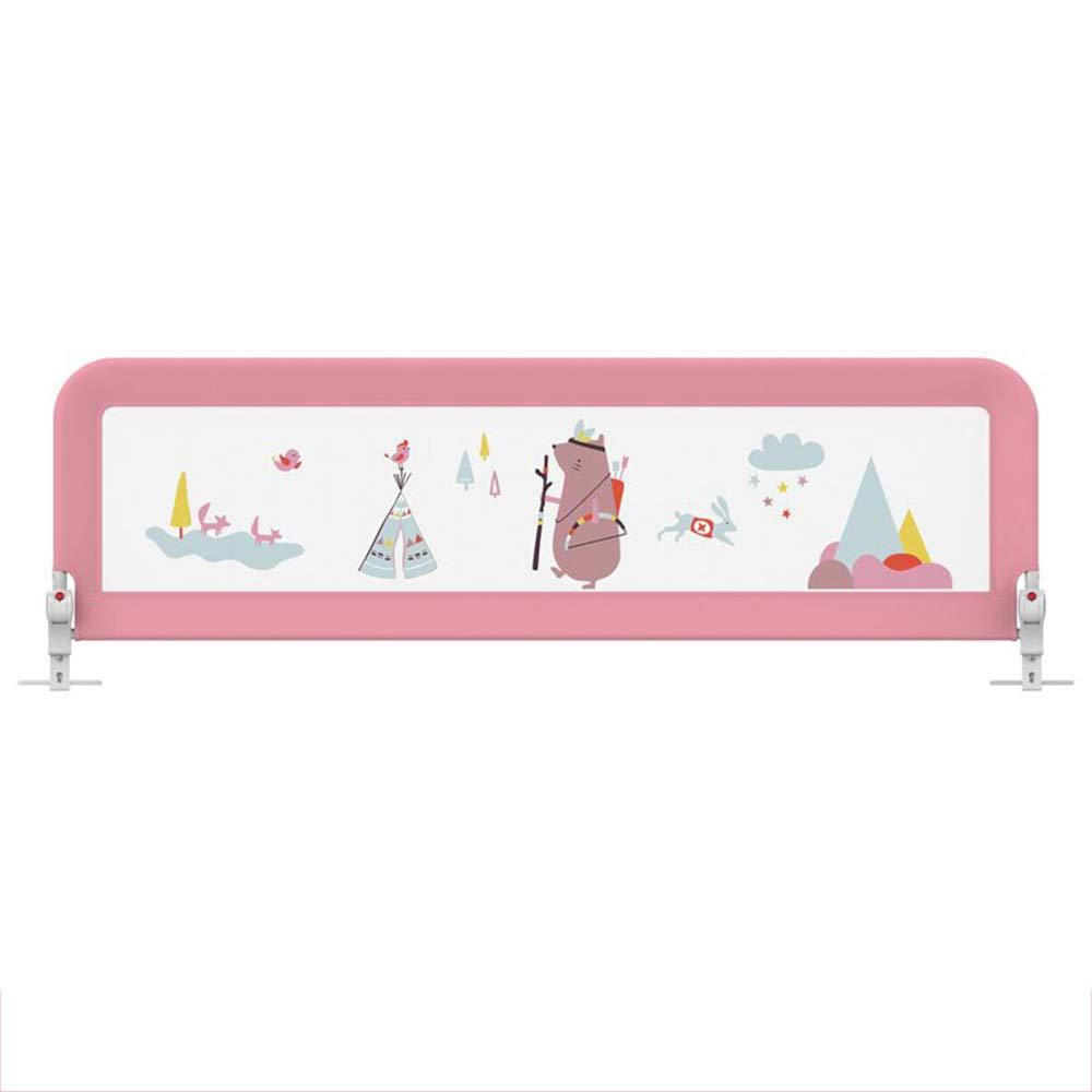 Baby Box Recinzione per bambini recinzione per bambini recinzione infrangibile per bambini recinzione universale Forte e durevole   Realizzato con materiali non to ( Colore   rosa , Dimensione   180cm )