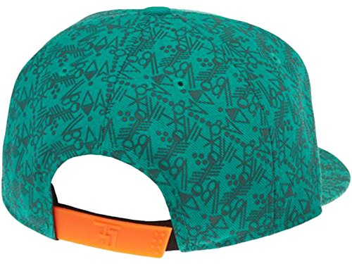 Kid's Nike KD Weatherman True Cap Emerald Green/Orange 717609-347