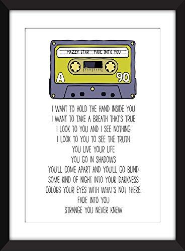 Mazzy Star Fade Into You Lyrics Unframed Print