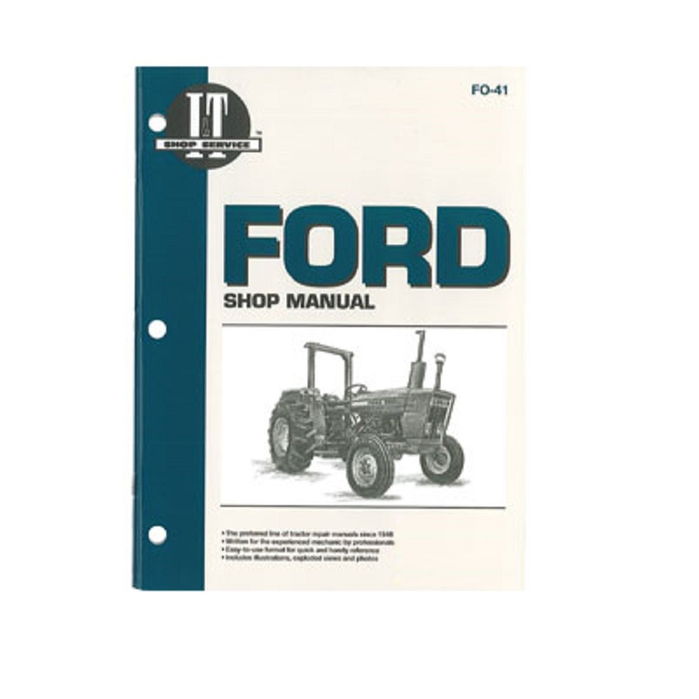 Amazon.com: FO41 New Ford/New Holland Shop Manual 2310 2600 2610 3600 3610  4100 4110 +: Industrial & Scientific