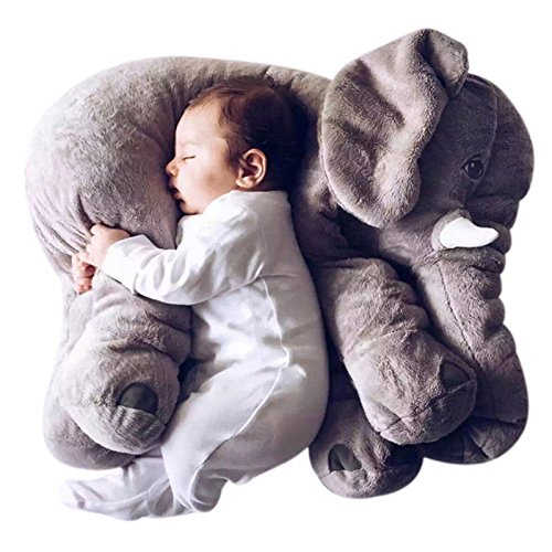 Mivera Cartoon 60cm Large Plush Elephant Toy Kids Make interest to Play with stuffed Elephant Birthday Gift for Kids(Set of 2) combo of 2