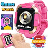 Kids Game Smart Watch Boys Girls, 2019 New Digital Wrist Phone Watch with Camera 2-Way Call Pedometer Fitness Tracker 1.5' Touch Alarm Clock Electronic Learning Holiday Toy Christmas Birthday Gifts