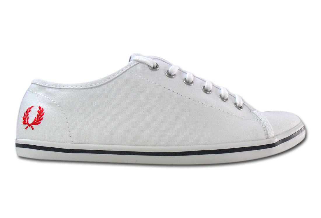 Fred Perry Phoenix Canvas White