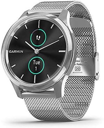 Garmin Vivomove Luxe Smartwatch Hybrid Analógico Digital Unisex ...