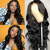 QTHAIR 12A 360 Lace Frontal Wigs 20' Pre Plucked with Baby Hair Brazilian Body Wave Human Hair Wigs Natural Hairline for Black Women Natural Balck Color Unprocessed Virgin Brazilian Hair Wigs