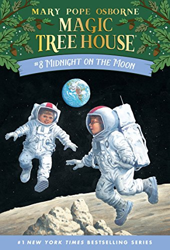 Book : Midnight On The Moon (magic Tree House, No. 8) - M...