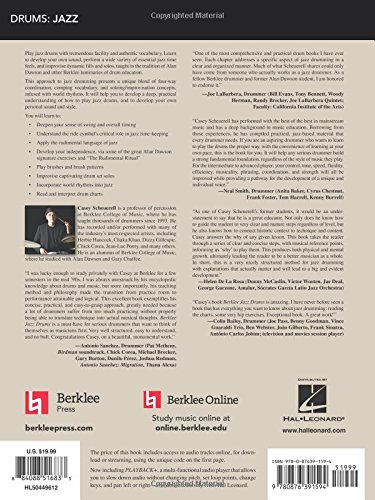 Berklee Jazz Drums Book & Online Audio by Hal Leonard