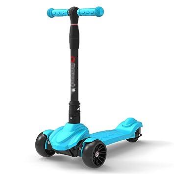 Patinetes de tres ruedas Kick Scooter para niños, manija ...