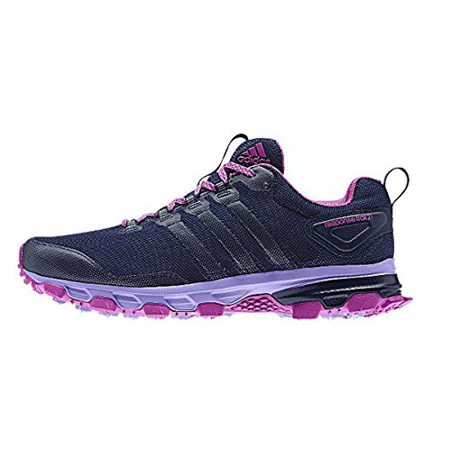 Scarpe Da Donna Adidas Outdoor Trail 21 W Sneakers Night Sky / Flash Pink / Light Flash Viola