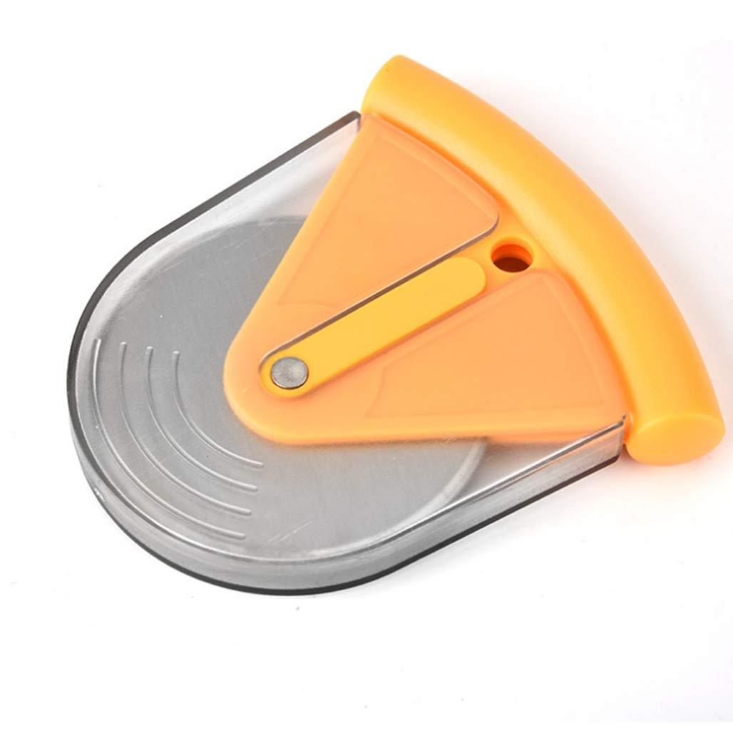 Zuhause Pizza-Rollschneider mit Schutzklinge f/ür Restaurant 3 St/ück