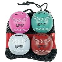 Juego de pesas de softball Markwort de 12 pulgadas (9, 10, 11 y 12 oz)