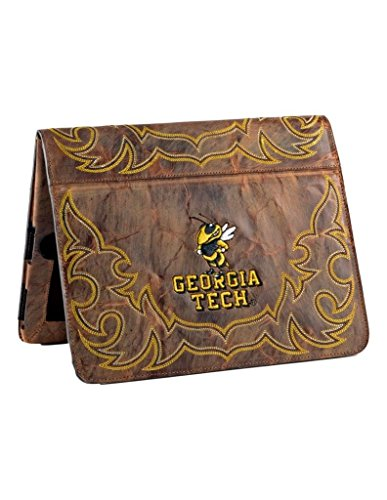 NCAA Georgia Tech GT-IP037Georgia Tech iPad 2 Cover, Brass, One Size by Gameday Boots