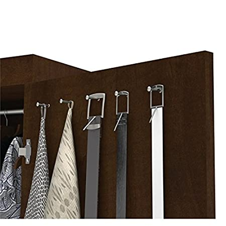 Amazon.com: Atlin diseños Pullout Armoire en Chocolate ...