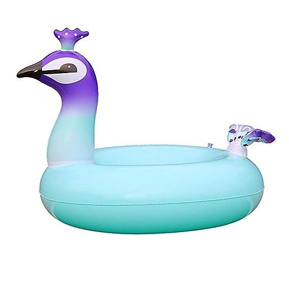 Peacock Swim Ring Inflables Piscina Flotadores Gigante ...