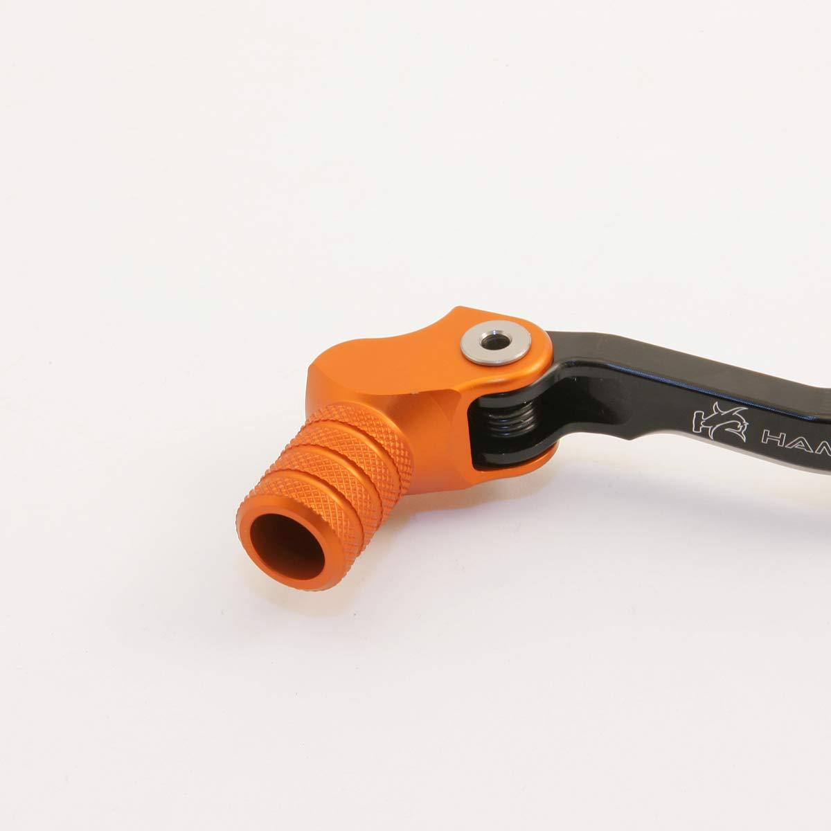 Hammerhead CNC Billet Black Shift Lever for BMW Water Cooled R1200GS tip options