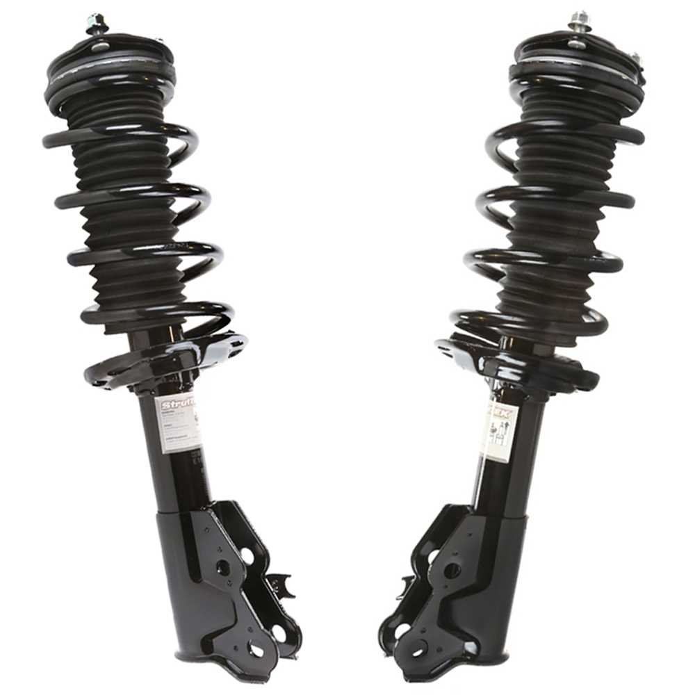 Maxorber Rear Pair Shocks Strut Absorber Compatible with Honda Civic Coupe Si 2006 2007 2008 2009 2010 2011 Shock Absorber 348023 38221062469